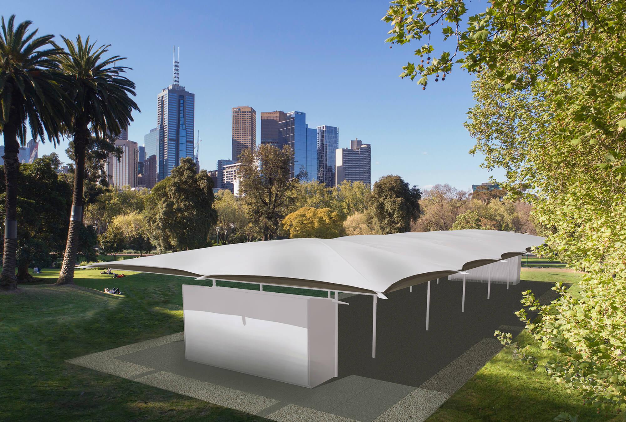 Big News! First look at Glenn Murcutt's MPavilion 2019 design