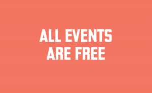 All events are free