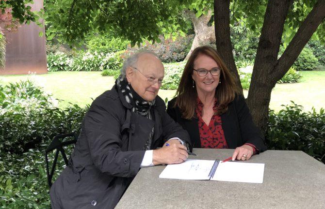 Glenn Murcutt AO and Naomi Milgrom AO in Conversation with Virginia Trioli