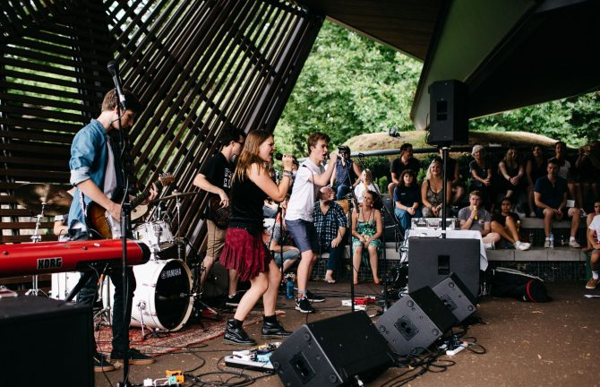 Rock Academy at MPavilion