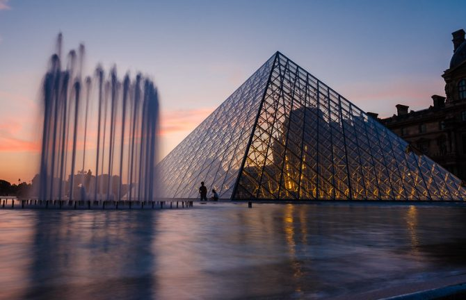 The Louvre Museum presents 'Thirty Years of the Louvre Pryamid'