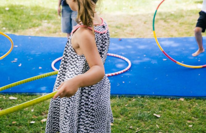 Circus Play in the Park with WestSide Circus