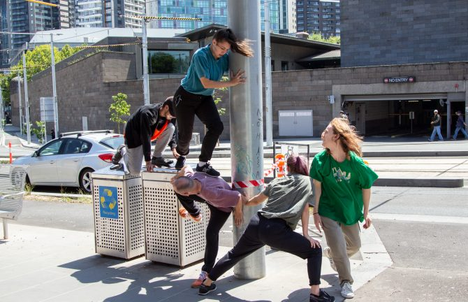 Chunky Move Residency at MPavilion Monash: Performance