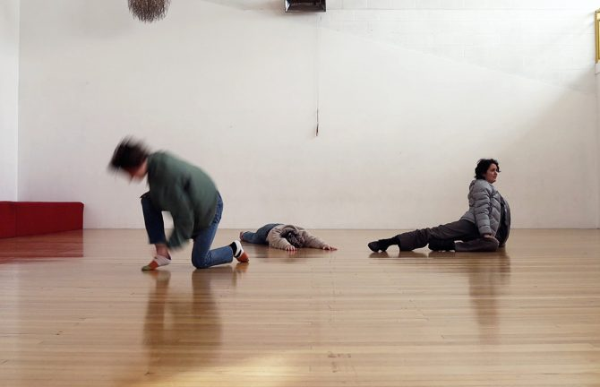 'Outcry': performative reading by Alice Heyward, Megan Payne and Jacqui Shelton