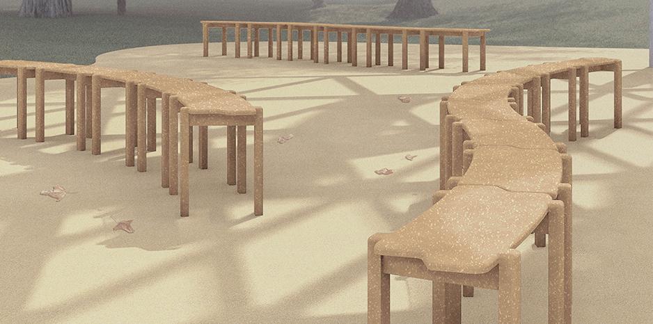 Nüüd Studio announced as designers for the MPavilion 2021 chair